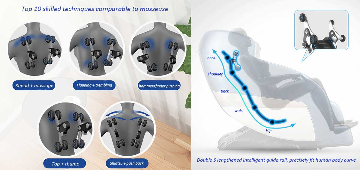 Massage Chair R6 Manufacturer