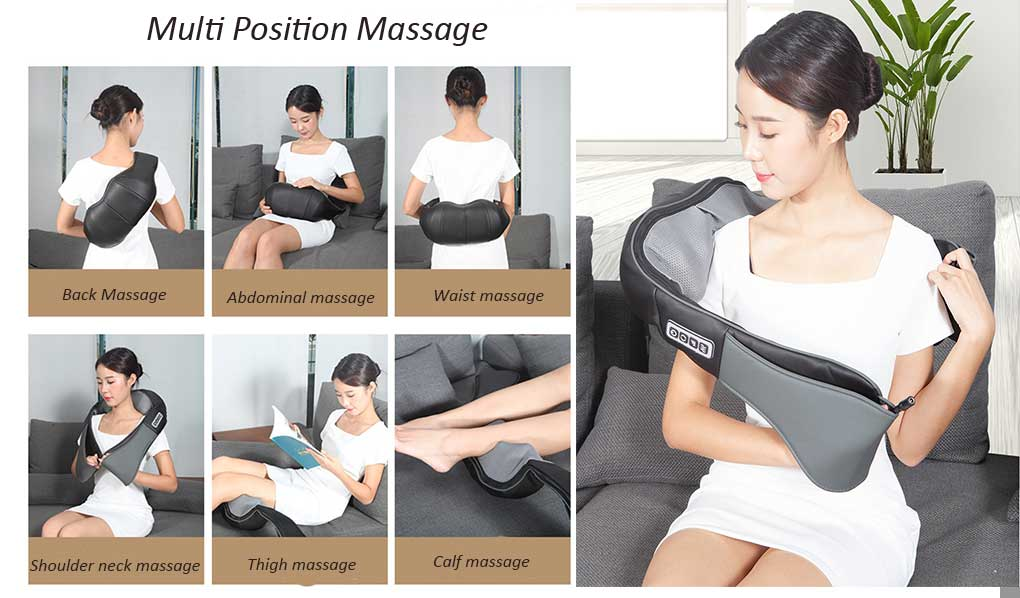 back neck and shoulder massager for sale